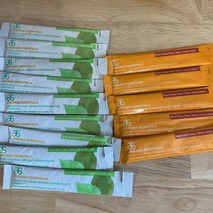 Arbonne green apple & blood orange fizz sticks